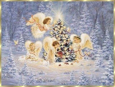 Les anges de no l - Anges de noel ...